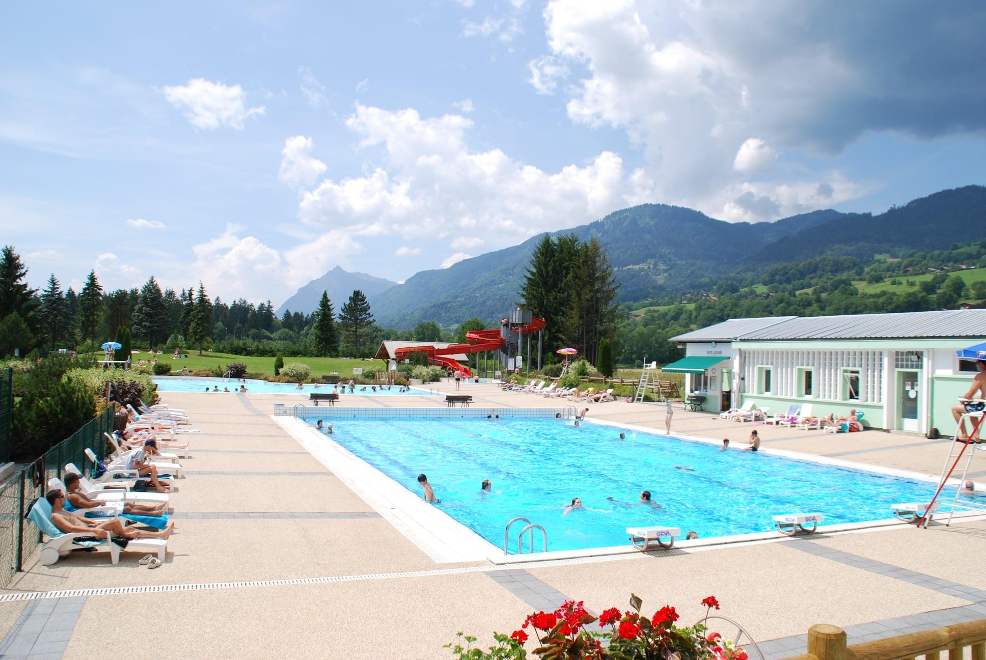Planning des activités de l'été à la piscine municipale