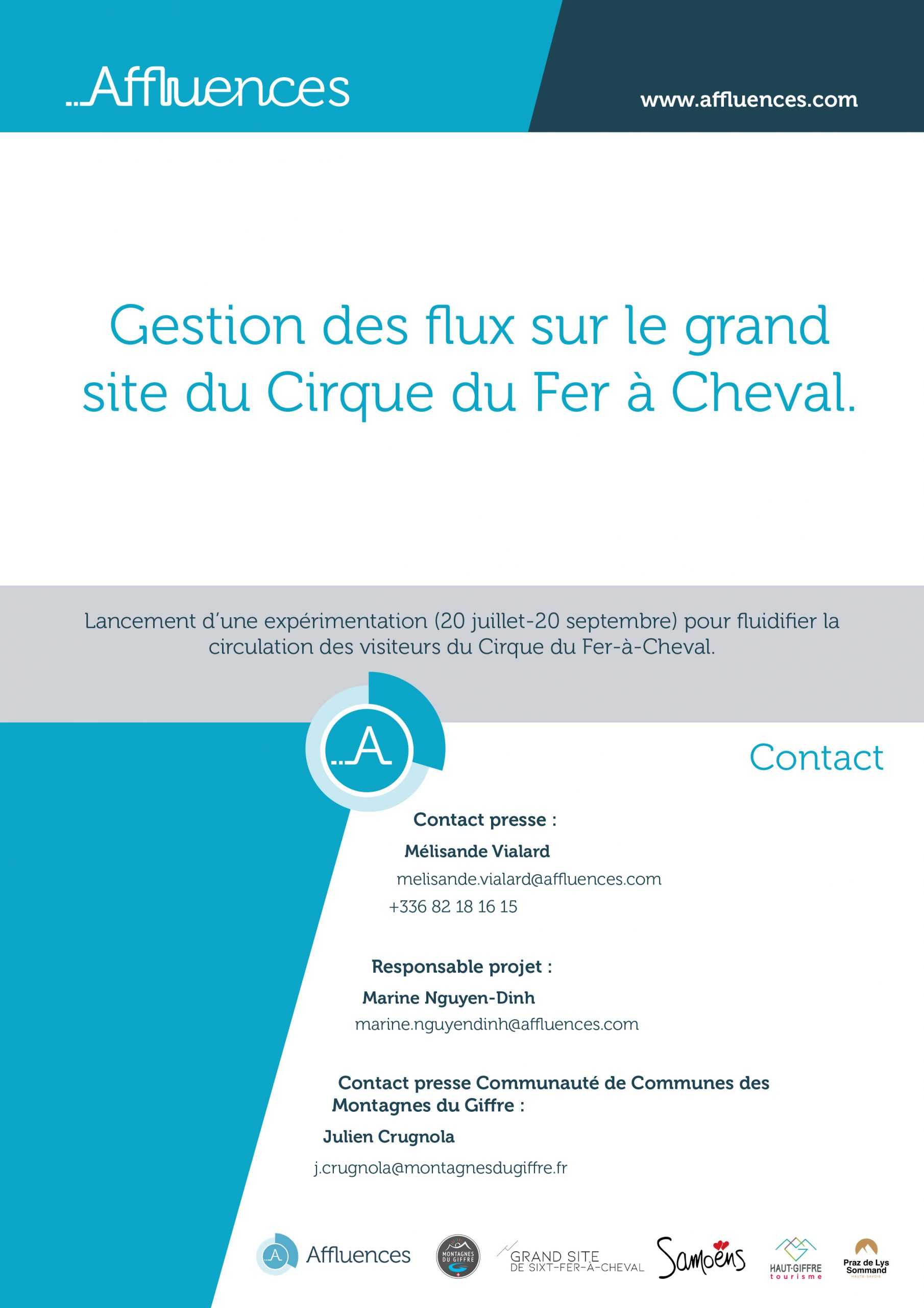 Une application pour le suivi de l'affluence au Cirque du Fer-à-Cheval