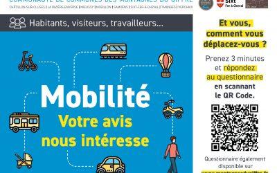 Enquête mobilité – Imaginons ensemble les déplacements de demain !