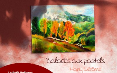 Exposition d'octobre de la Médiathèque : Balades aux pastels