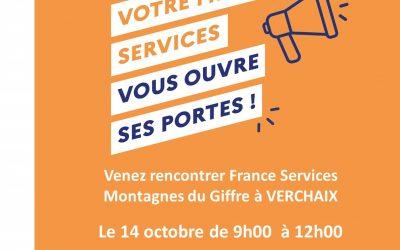 Portes ouvertes France Services Montagnes du Giffre
